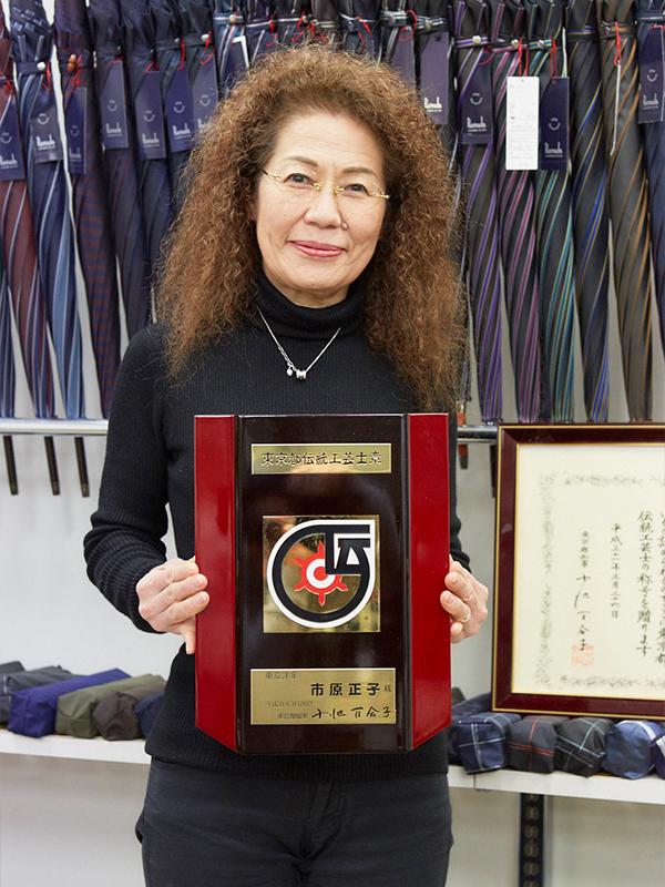 伝統工芸士 東京洋傘職人 奥田 正子