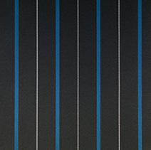 チョークストライプ ブルー